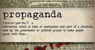 Die merkwürdige Grenze der Propaganda (Teil 1)